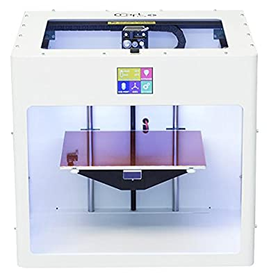 Traffic White colored CraftBot PLUS 3D printer.