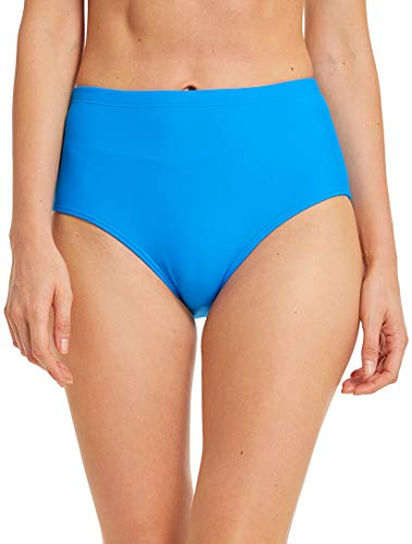 Micosuza Women's Swim Bottom High Waist Retro Basic Full Coverage Bikini Tankini Swimsuit - Bikini Womens Brief
