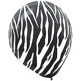 amazoncom zebra stripes black white 11 latex jungle