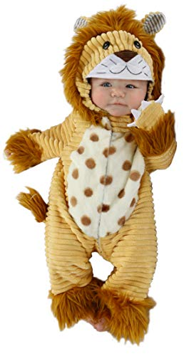Princess Paradise Baby Boys' Safari Lion Deluxe Costume, As Shown, 3/6M -