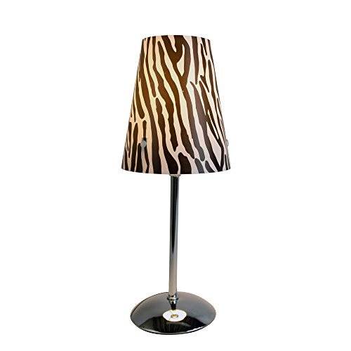 Limelights Lt3024 Zba Mini Silver Table Lamp With Animal