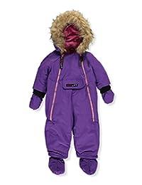 """Canada Weather Gear Baby Girls' """"Summit Attempt"""" 1-Piece Snowsuit"""
