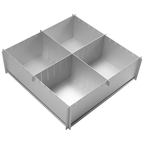 12 x 4 inch Deep Multisize Cake Pan (Pack of 4)