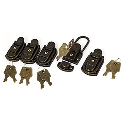 eDealMax 58 mm x 35 mm x 12 mm resorte de tracción Toggle Latch 5PCS para la caja del baúl Caso Maleta - - Amazon.com