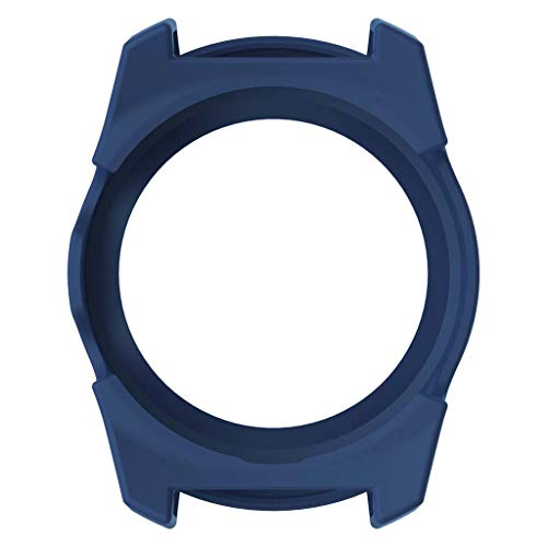 RingBuu Protective Case - Silicone Protector Soft Shell Protective Frame Case Cover Skin Bumper for Ticwatch Pro Smart Watch