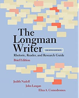 The longman reader, 8th edition 8th edition by nadell, judith.