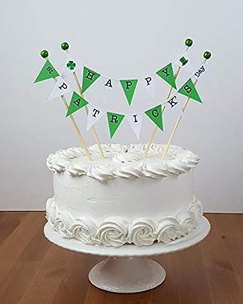 Surprising Amazing Buntings Happy St Patricks Day Cake Topper Decoration Funny Birthday Cards Online Necthendildamsfinfo