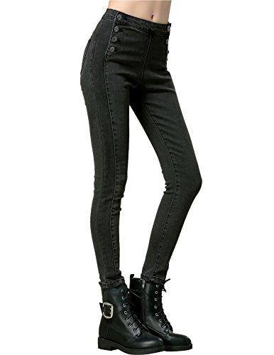 High Waist Trouser Jeans - 6