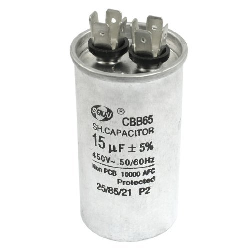 tono argento 450/Vac 15Uf frigorifero Funzionamento del motore condensatore