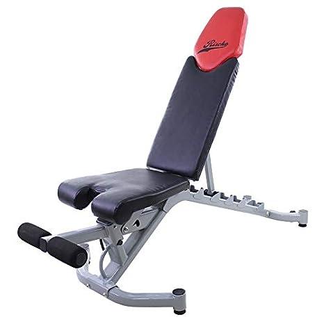 Riscko Banco de Musculación Ajustable BM5-1: Amazon.es: Deportes y ...