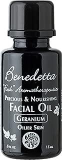 product image for Benedetta Precious & Nourishing Facial Oil - Geranium for Oily Skin - Balances, Equalize Oil Production, Oily Skin, Anti-Aging 0.5 oz (15ml)