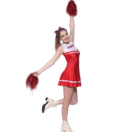 (Sexy High School Cheer Girl Cheerleader Costume Cheerleading Fancy)