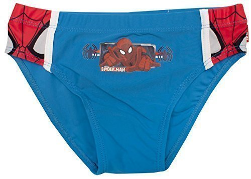Boys Official Marvel Spiderman Spidey Face Swimming Brief Trunks sizes from 3 to 8 Years