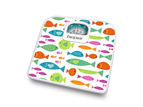 Beper 40.812/F2/ /P/èse-Personne de Bano analogica avec Diseno poissons
