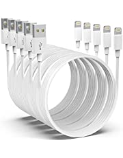 [Apple MFi Certified]iPhone Charger AZMOGDT,5pack[6/6/6/10/10FT]Long Lightning Cable iPhone Cable USB Sync Cord Fast iPhone Charger Cable Compatible iPhone 13/12/11 Pro Max Xs X XR 8 7 iPad iPod More