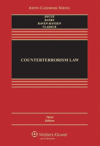Counterterrorism Law Aspen Casebook