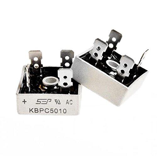 50a 1000v Metal Case Bridge Rectifier Sep Kbpc5010 Amazon Industrial Scientific: Kbpc5010 Bridge Rectifier Wiring Diagram At Eklablog.co
