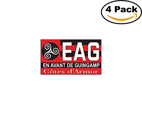 fan products of En Avant de Guingamp France Football Club Soccer FC 4 Sticker Decal 4X4