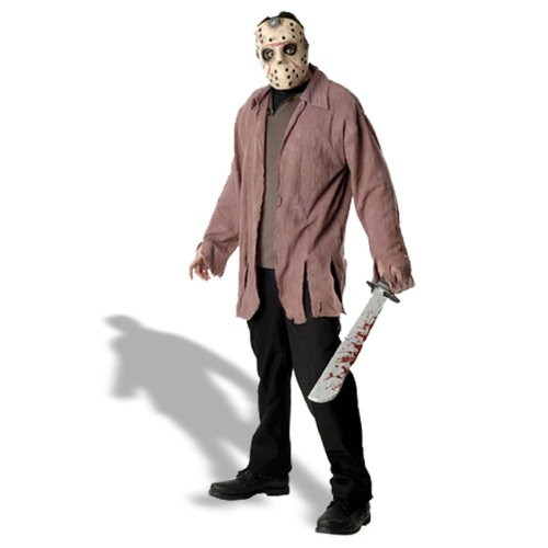 Friday 13 Halloween Costumes (Friday The 13th Jason Costume, Brown,)