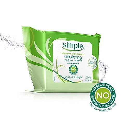 Simple Exfol Wipes Size 25ct Simple Exfol Wipes 25ct