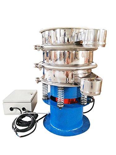 110V 370W #20 , #100 Mesh Screen Electric Powder Shaker Vibration Sieve Machine