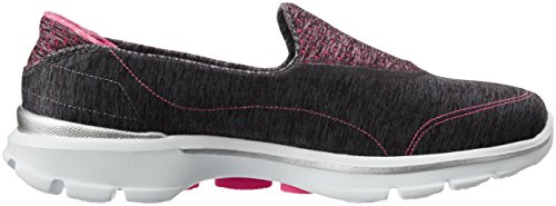 Walk Elevate Charcoal Shoe Skechers Womens 3 Performance Walking Pink Go COxqHxwt