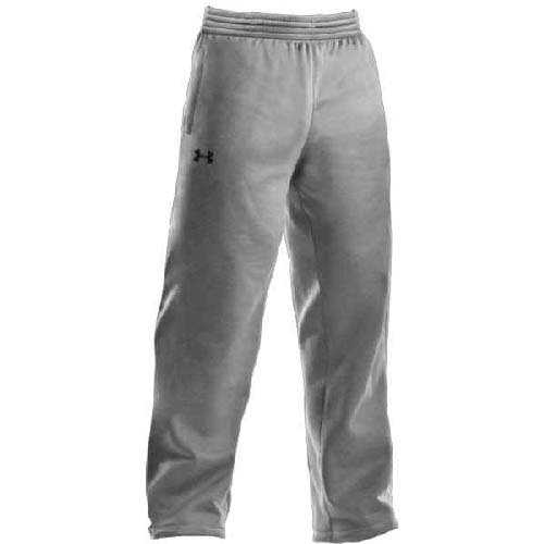 Under Armour Men's Armour Fleece Team Pants Extra Large True Gray Heather by Under Armour