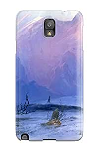 High Impact Dirt/shock Proof Case Cover For Galaxy Note 3 (the Lonely Journey)