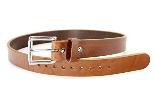 BULLBELT® Gun Belt - Original Ultimate Thickness Gun Belt - Made in the USA (42, Smooth - Caramel Tan) by BULLBELT