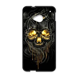 ZXCV Shiny melting skull Cell Phone Case for HTC One M7