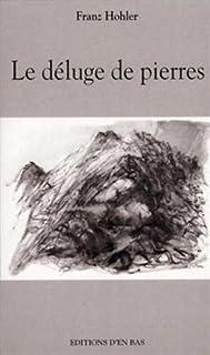 Le déluge de pierres : récit, Hohler, Franz