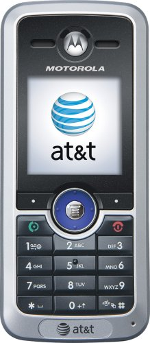 (MOTOROLA C168i AT&T CINGULAR PREPAID GOPHONE CELL PHONE )