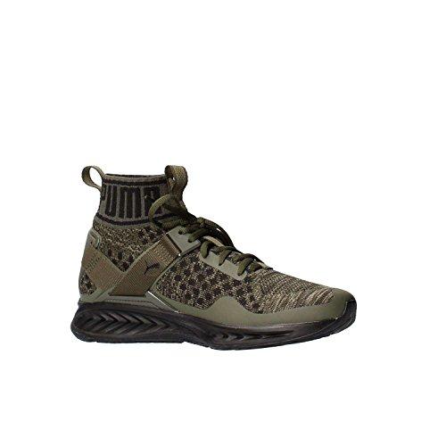 Puma - Ignite evoknit - zapatillas neutras - burnt olive/forest night/black Oliv (Burnt Olive/Forest Night/Puma Black)
