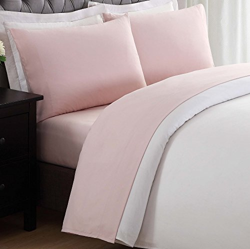 My World LHK-SHEETSET Solid Blush Full Sheet Set, (Pink Sheet Set Full)