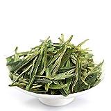 GOARTEA 50g (1.76 Oz) Organic Anji Bai Cha Long Jing White Dragon Well Loose Spring Leaf Chinese GREEN TEA
