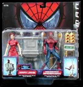 (Spiderman Mary Jane & Web Swinwing Spiderman Action Figure by Spider-Man)