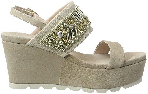 sabbia Chaussures Beige Femme Compensées Tosca Blu Negroni qP1YE