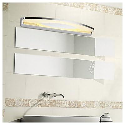 19W 55cm Long Super salle de bains moderne contemporain mur LED d'éclairage en métal léger