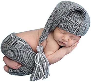 ISOCUTE Newborn Photography Knitted Outfits product image