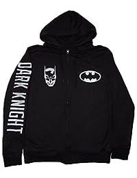 Batman Logo Adult Zip-Up Hoodie