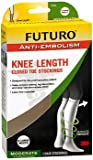 Futuro Anti-Embolism Knee Length Closed Toe Stockings X-Large White Moderate, Pack of 2