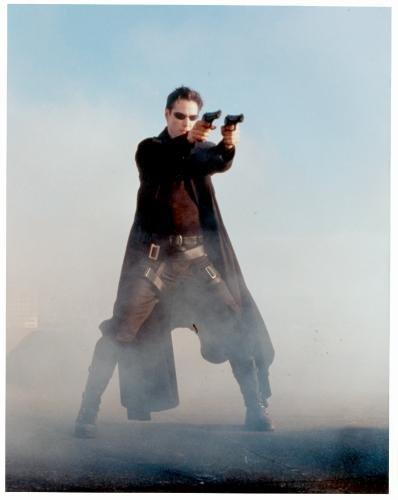 Autograph-Warehouse-93960-Keanu-Reeves-8-x-10-Photo-Glossy-Image-No--1-The-Matrix-Neo