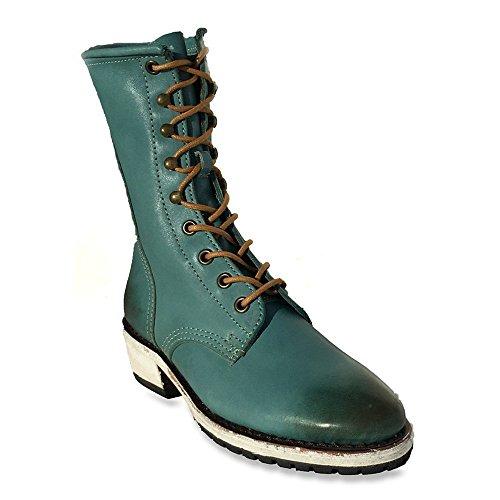Gee Wawa Footwear Women's Aira Turquoise 6 M