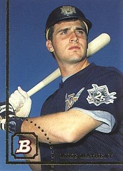 1994 Bowman Baseball #673 Mike Matheny Rookie Card