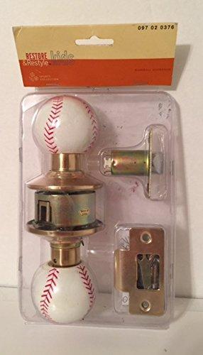 Amazon.com: Baseball Doorknob Set: Kitchen & Dining