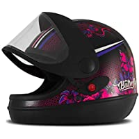 Pro Tork Capacete Super Sport Moto Butterfly 58 Preto