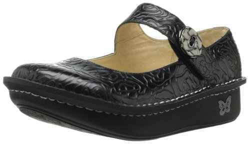 Donna Embossed AlegriaALEGRIA Black Rose Adolfo Casual Dominguez PALOMA nRIRYqB