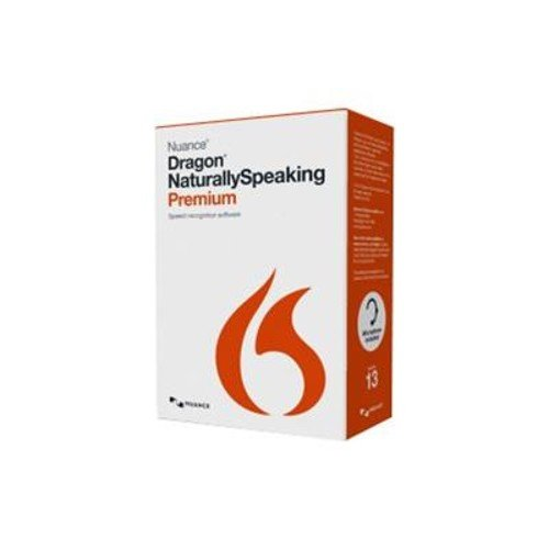 Nuance Communications K609A-K1A-13.0 Nuance Communications Dragon NaturallySpeaking Premium - (v. 13
