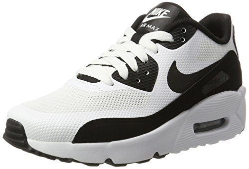 Nike Air Max 90 Ultra 2.0 (GS), Zapatillas Unisex Niños Blanco (White/black-white)