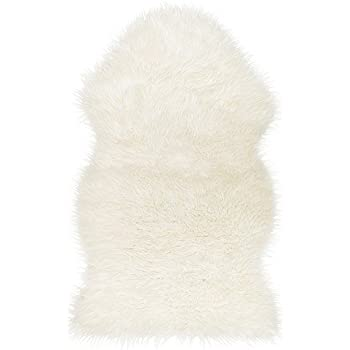 Amazon Com Ikea 302 290 77 Tejn Faux Sheepskin White